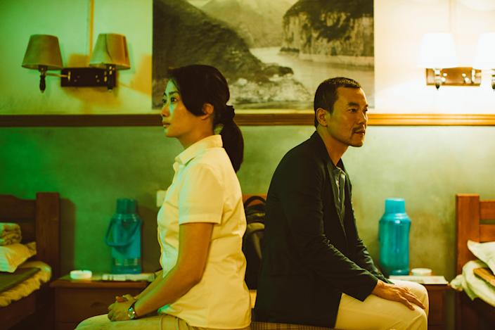 Qiao (Zhao Tao) lives in a depressed mining town. (New Wave Films)