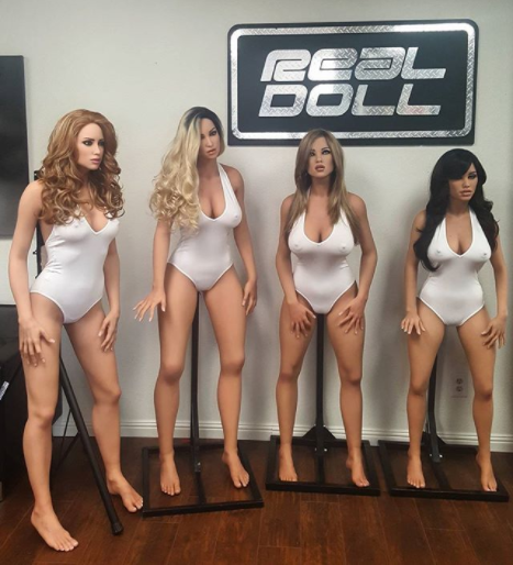 The future of sex dolls in merging with robotics to enable them to talk back to you. Photo: Instagram/realbotix
