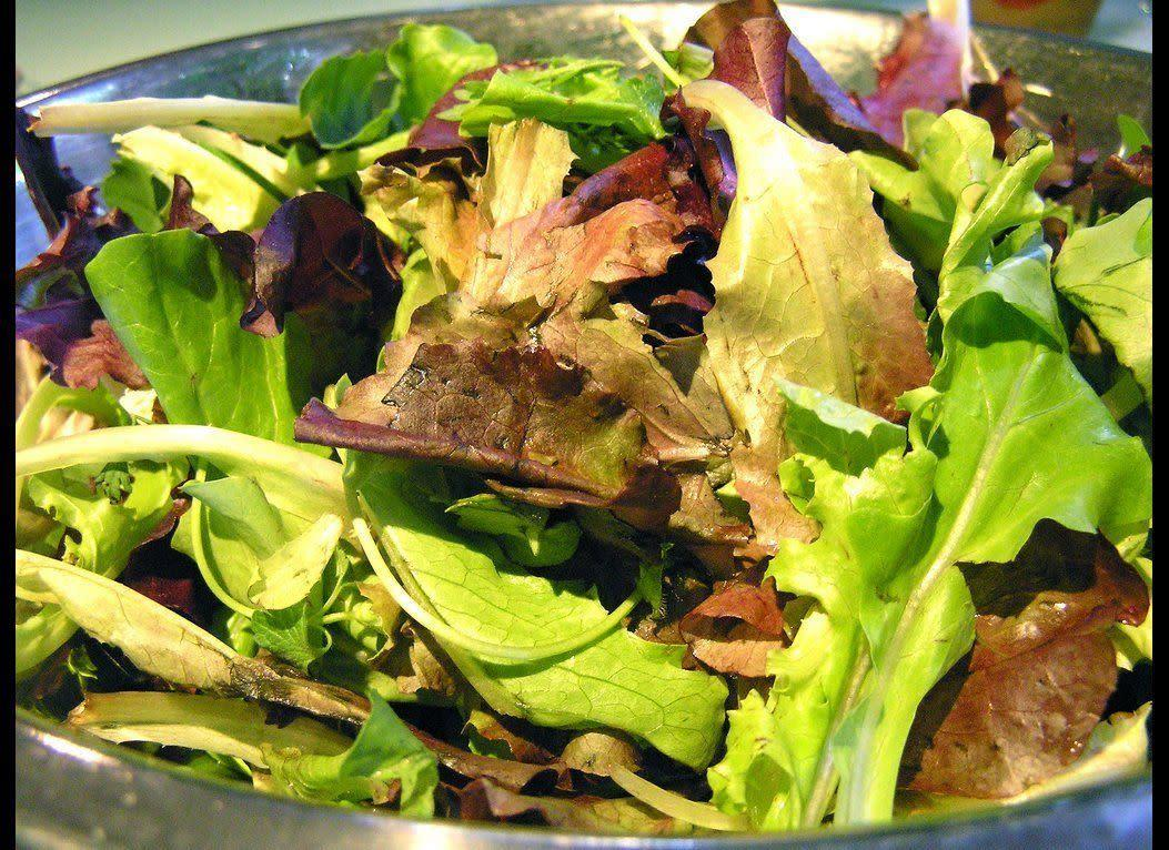 A couple found <span>a disembowled mouse in their Dole packaged salad mix</span> in June 2011. They'd already started eating the salad by the time they found the mealbreaker; they promptly vomited.