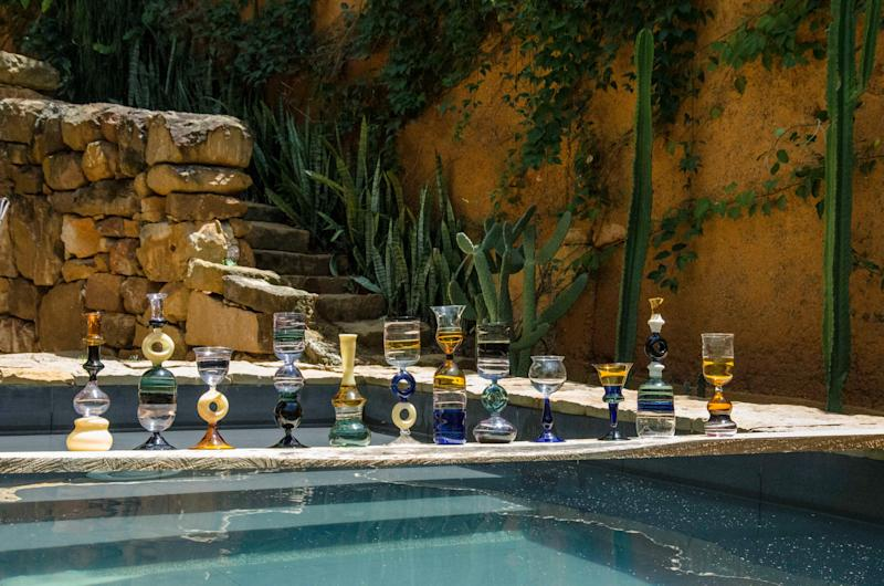 Aside from wanting all of the Marni glassware, we're in love with the photos and scenery.