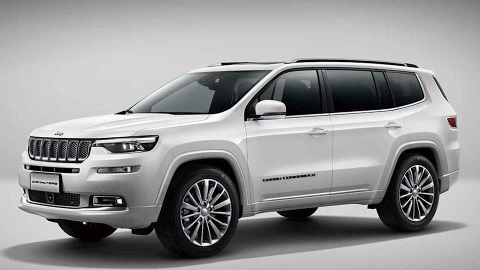 Jeep Grand Commander spied testing in India, features revealed