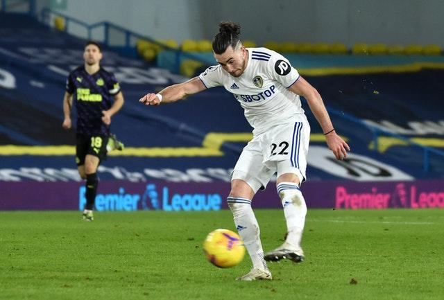 Jack Harrison was on the score-sheet as Leeds returned to winning ways against Newcastle (Rui Vieira/PA)