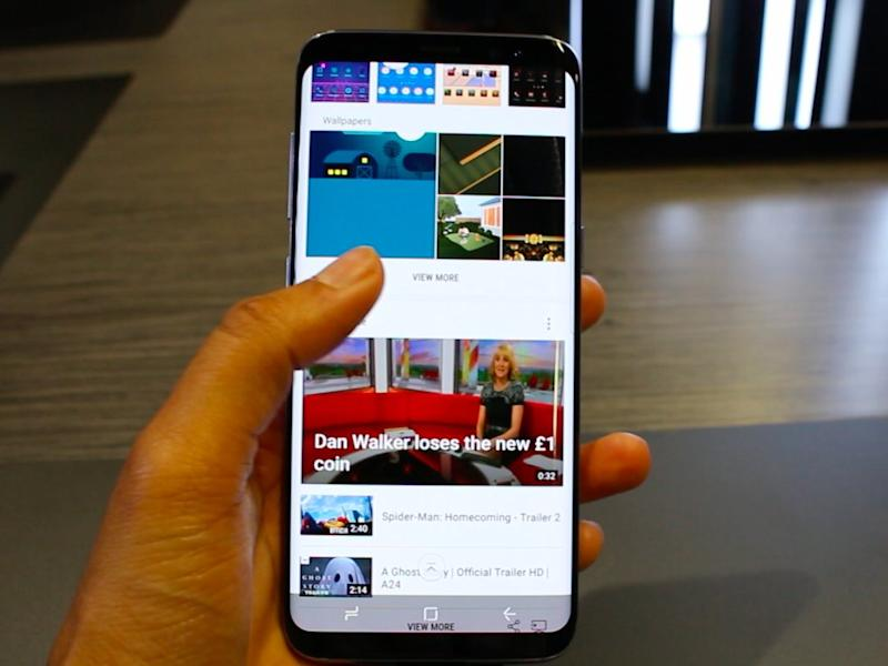 Google tells developers to tweak apps for Galaxy S8, 8+ displays