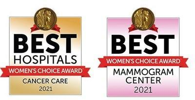 The Barbara Ann Karmanos Cancer Institute has been named one of America's Best Hospitals for Cancer Care and one of America's Best Mammogram Imaging Centers by the Women's Choice Award®.