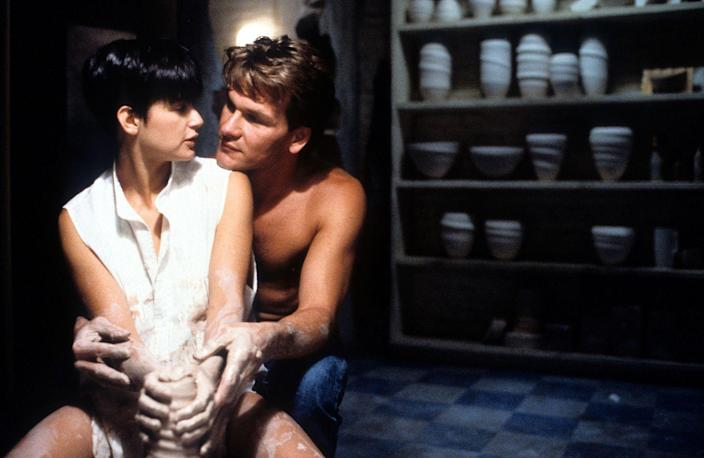 <p>Demi Moore and Patrick Swayze shine in this romantic fantasy, which focuses on Molly dealing with the death of her boyfriend, Sam. Throughout the movie, Sam becomes a ghost, always staying close to Molly. Since Molly is in danger, she turns to a psychic (hello, Whoopi Goldberg!) for help. Sam steps in and uses the psychic as a way to communicate with Molly. After Molly is safe, she's able to see Sam and say goodbye. The love story may be a little out there, but we're thinking that pottery sales went <em>way</em> up as a result.</p>