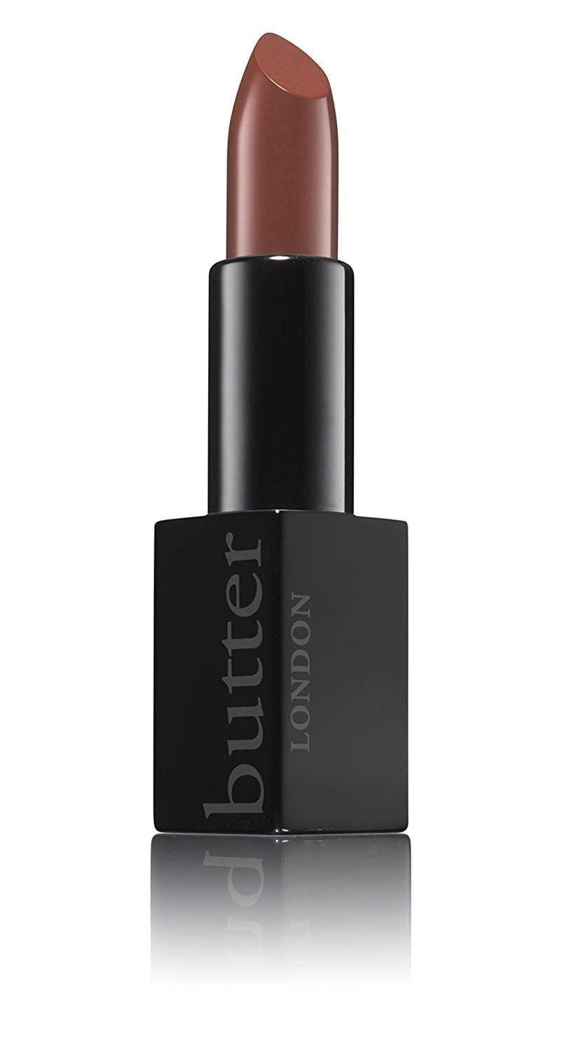 <p>This silky-smooth <span>butter LONDON Plush Rush Lipstick</span> ($22) comes in several different colors.</p>