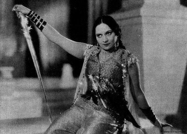 In its Millennium issue released in 2000, India Today named Marathi/Hindi actress Durga Khote as among the '100 People Who Shaped India.' Khote, born Vita Lad, began her acting career at a time when it was unthinkable of women from respectable families to enter into the profession. Her first role was that of Queen Taramati in the 1932 film Ayodhyecha Raja, by V Shantaram. The film became a hit and Durga Khote, the star, was born. In 1937, Khote produced and directed a film called Saathi, becoming one of the first women to do so. Khote took on the roles of queens and warrior princesses, before moving on to take on matronly roles in films such as Bharat Milap (1942), Charnon Ki Dasi (1942) and Mughal-e-Azam (1960). Throughout her career, Khote was an inspiration to many actresses who came after her, including Shobhna Samarth.