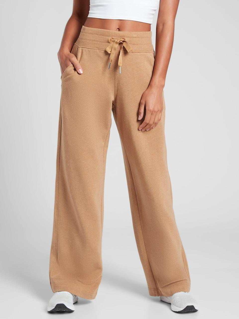 <p>If you treat them to a cozy sweater, then get them the <span>Athleta Balance Pant</span> ($89) to match.</p>
