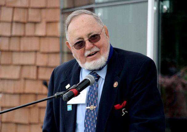 PHOTO: Rep. Don Young speaks during an event in Anchorage, Alaska, Aug. 26, 2020. (Mark Thiessen/AP, FILE)