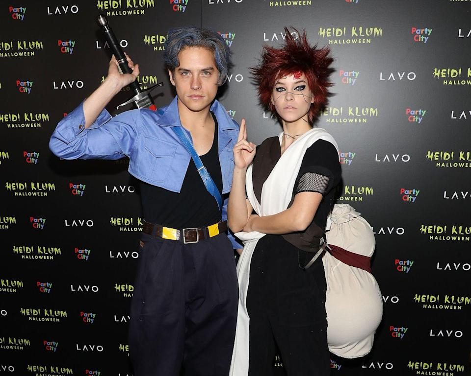 <p>Halloween couples goals! Dylan and Barbara are serving up anime realness. Dylan is dressed as Trunks from<em> Dragon Ball Super </em>and Barbara is Gaara from <em>Naruto</em>. </p>