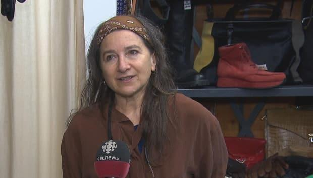 Lorraine Lévesque is the owner of Bohême Vintage in Mile End.