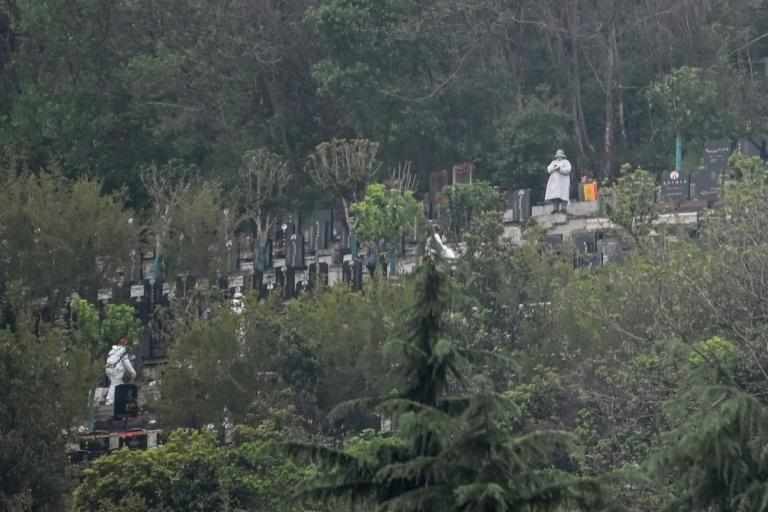 Chinese authorities are discouraging visits to cemeteries to mark the 'tomb-sweeping' festival
