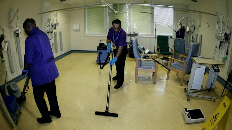 Hospital porters and cleaners among those at 'higher risk of Covid-19 infection'