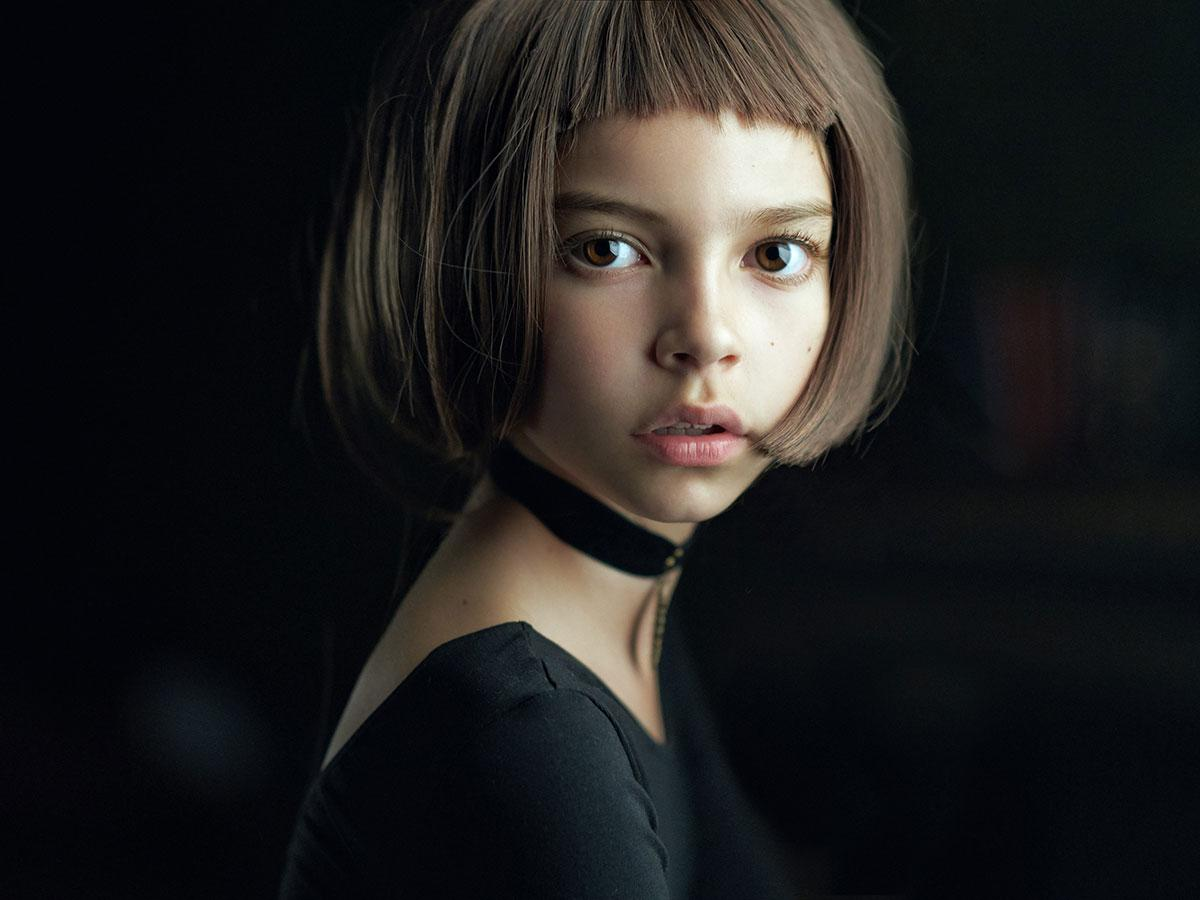 <p>'Mathilda', a portrait of a young girl inspired by the film Leon, was selected as the best single photograph in the competition. (Alexander Vinogradov) </p>
