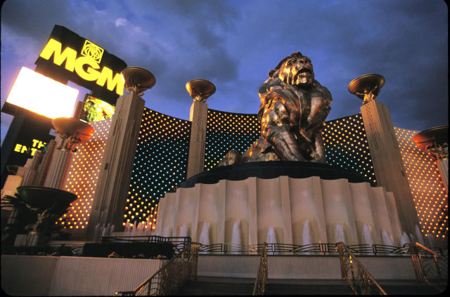 MGM and Yahoo Sports announced a historic partnership. (Getty Images)