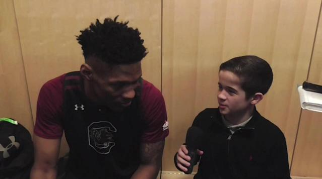 Interview with Gamecocks Forward Chris Silva