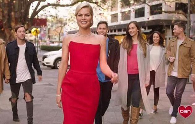 The former pop star is this year's Bachelorette. Source: Channel Ten