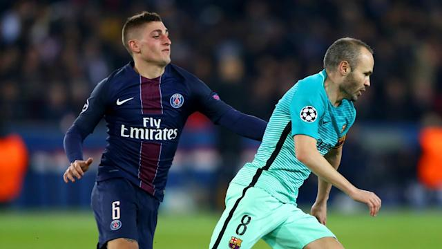 The Catalan club are ready to start bidding for the Italy international, but their valuation of the midfielder is way below what PSG would want