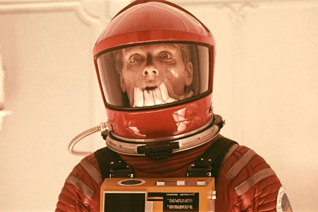 Keir Dullea in <em>2001: A Space Odyssey</em>. (Photo: Warner Bros.)