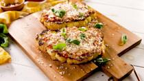 """<p>This will save you soo many calories.</p><p>Get the recipe from <a href=""""https://www.delish.com/cooking/recipe-ideas/a26872644/cauliflower-parmesan-recipe/"""" rel=""""nofollow noopener"""" target=""""_blank"""" data-ylk=""""slk:Delish"""" class=""""link rapid-noclick-resp"""">Delish</a>.<br></p>"""