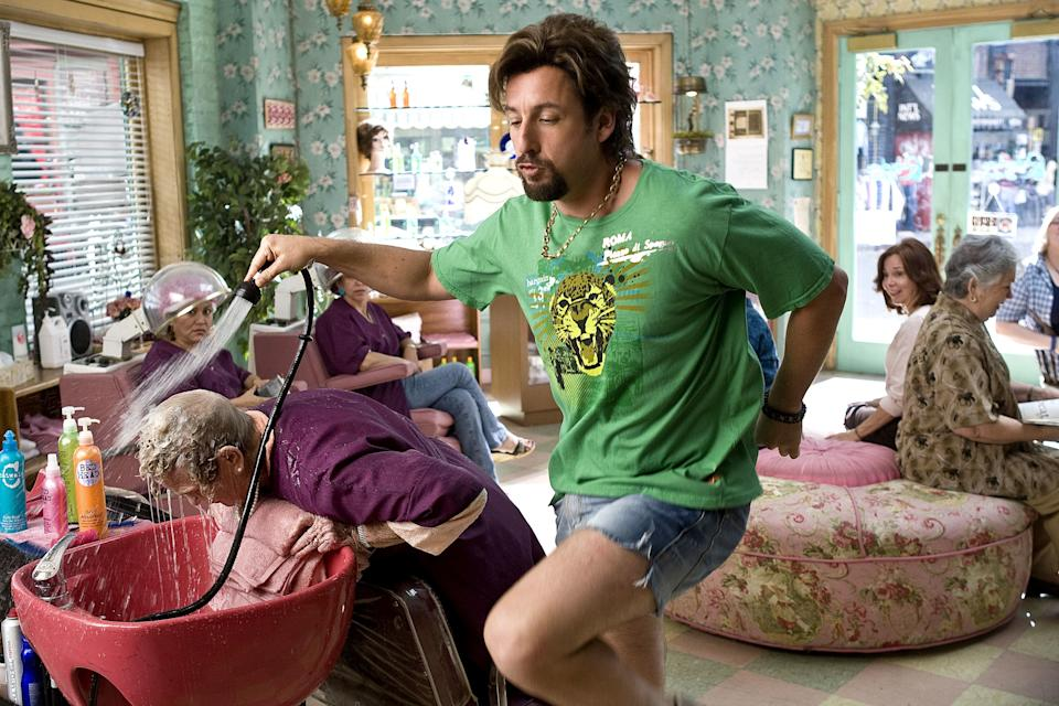 YOU DON'T MESS WITH THE ZOHAN, Adam Sandler, 2008, (c) Columbia/courtesy Everett Collection