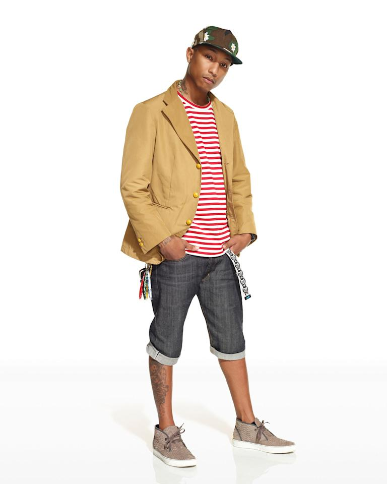 "Pharrell Williams in ""Styled to Rock"" Season 1."