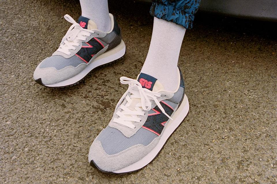 """SNS x New Balance 237 """"Blue Racer."""" - Credit: Courtesy of SNS"""