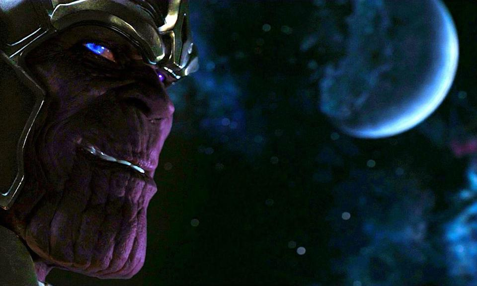 <p>Before Josh Brolin was cast as the Mad Titan, Poitier played the role, albeit briefly, for the end credit scene of <em>The Avengers</em>. </p>
