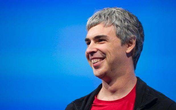 Alphabet chief executive Larry Page is facing shareholder calls for his company to be broken up - © 2013 Bloomberg Finance LP