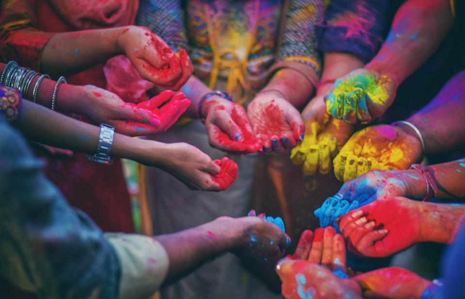 """<p>All you have to do for this theme is pick a color (or do rainbow!) and run with it in terms of decorations and food. Everyone must dress in that color and all food has to be the selected color. It's so easy, it might even become a monthly tradition! For your first party, try out <a href=""""https://www.popsugar.com/fashion/pantone-color-of-the-year-2020-46980000"""" class=""""link rapid-noclick-resp"""" rel=""""nofollow noopener"""" target=""""_blank"""" data-ylk=""""slk:Pantone's Color of the Year for 2020: Classic Blue"""">Pantone's Color of the Year for 2020: Classic Blue</a>.</p>"""