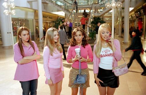 Screenshot from Mean Girls movie