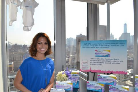 Melissa Rycroft partners with Clearblue to launch the new Advanced Digital Ovulation Test. (Photo: B ...