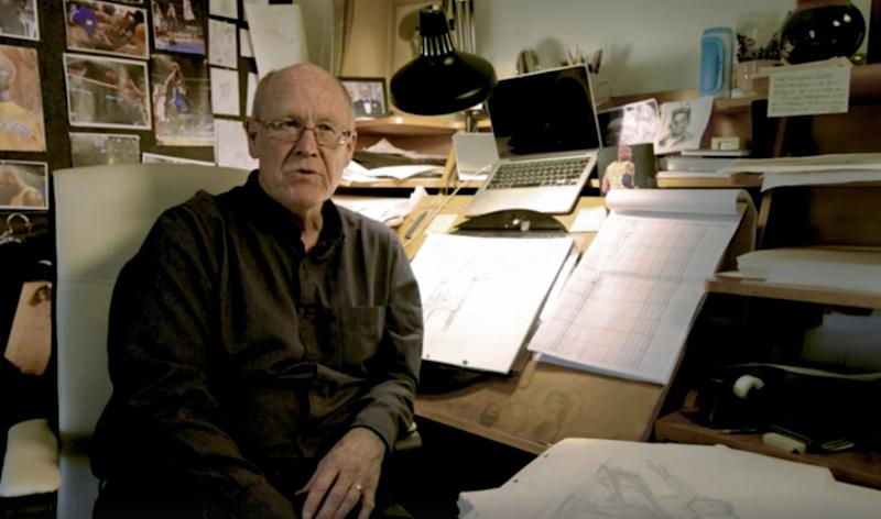 """Dear Basketball"" animator Glen Keane. (Image: go90)"