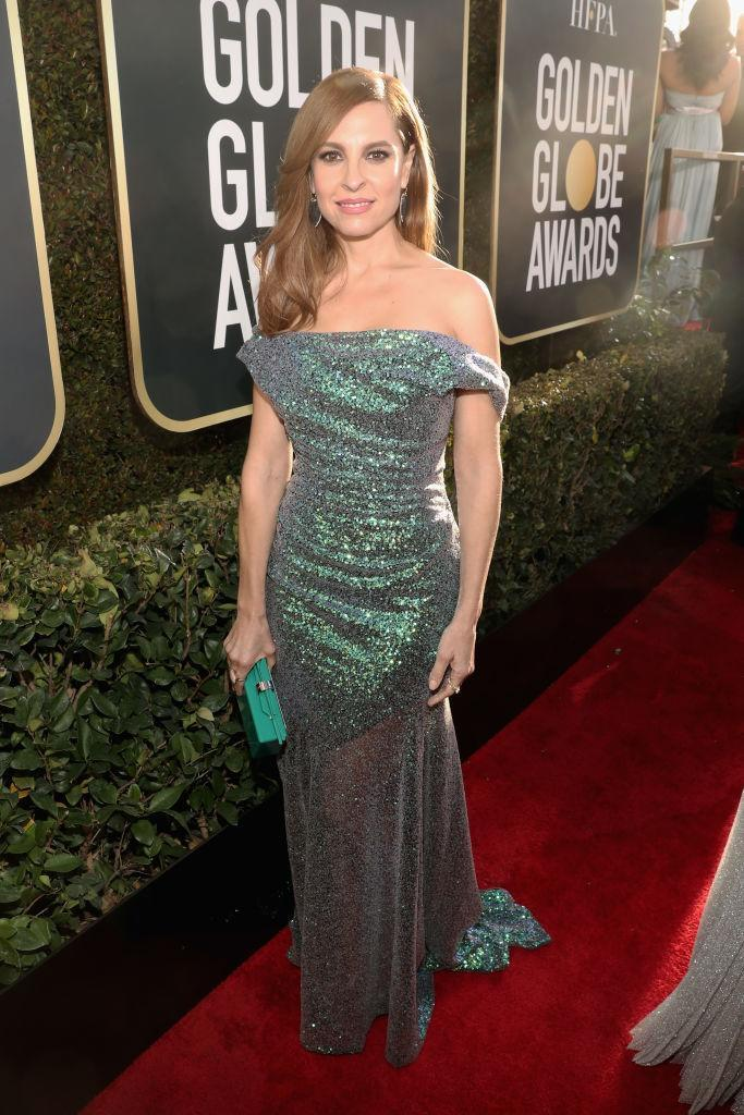 <p>Marina De Tavira attends the 76th Annual Golden Globe Awards at the Beverly Hilton Hotel in Beverly Hills, Calif., on Jan. 6, 2019. (Photo: Getty Images) </p>