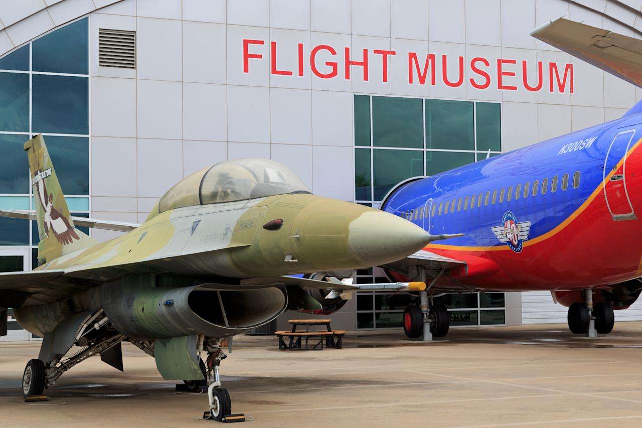 <p><strong>Zoom out. What's this place all about?</strong><br> Located right next to the Dallas Love Field Airport, the Frontiers of Flight Museum dives into aviation history, beginning in the 1920s through World War II and the modern era. The museum also touches on Dallas/Fort Worth's tremendous role in aviation.</p> <p><strong>Ye shall know them by their permanent collection: How was it?</strong><br> In addition to more than 30,000 artifacts, the museum's collection includes an incredible number of aircraft, ranging from a Southwest Airlines' Boeing 737 to Bell 47 helicopter. There are also two different flight trainers to try.</p> <p><strong>What did you make of the crowd?</strong><br> Most visitors here are pretty serious about all forms of air travel, but that's not to say that mildly interested passersby won't find the museum worthwhile.</p> <p><strong>On the practical tip, how were facilities?</strong><br> The museum is located in an old terminal at Dallas Love Field and spans more than 100,000 square feet (not surprising, given the number of full-size aircraft on display). Having said that, it's all on a single level and is easy enough to get around.</p> <p><strong>Gift shop: obligatory, inspiring—or skip it?</strong><br> The museum store will delight all manners of aviation nerd: It's well-stocked with everything from esoteric books about the Lockheed SR-71 Blackbird to complex model kits.</p> <p><strong>Any advice for the time- or attention-challenged?</strong><br> For those with short attention spans, you can have a perfectly enjoyable visit by jumping in one of the flight trainers or just walking around the impressive collection of planes</p>