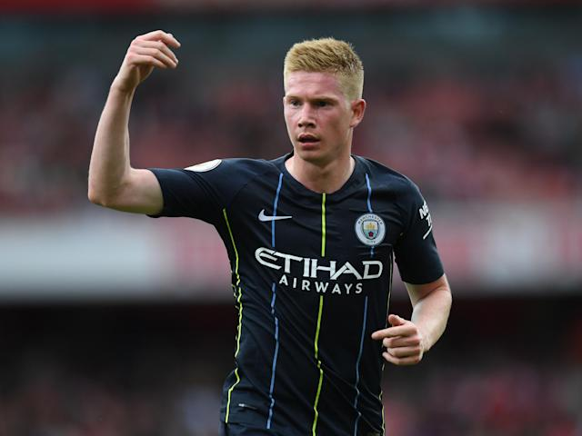 Kevin De Bruyne could make shock return for Manchester City against Liverpool, says Pep Guardiola