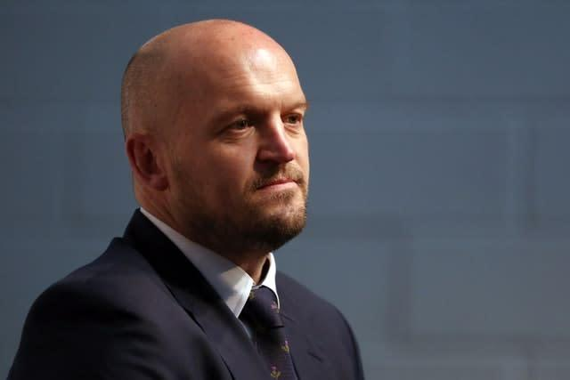 Gregor Townsend is pleased with Scotland's preparation (Steven Paston/PA)