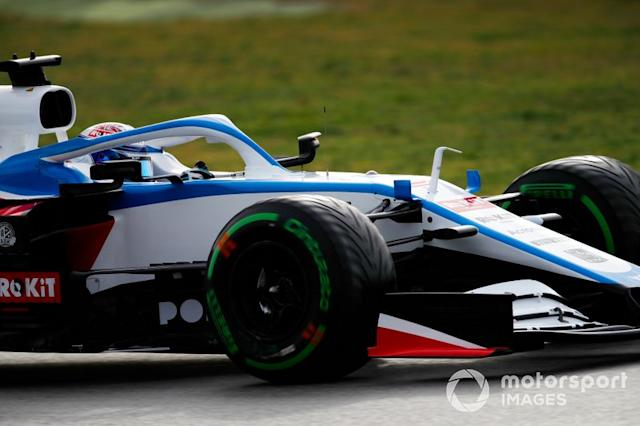 "Nicholas Latifi, Williams FW43 <span class=""copyright"">Zak Mauger / Motorsport Images</span>"