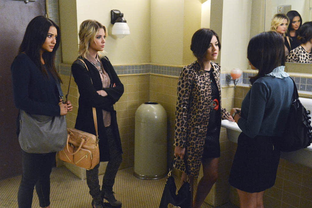 """""""Will the Circle Be Unbroken?"""" - With Spencer missing, Aria, Emily and Hanna search for clues to where their friend may be in """"Will the Circle Be Unbroken?,"""" an all new episode of ABC Family's hit original series """"Pretty Little Liars."""""""