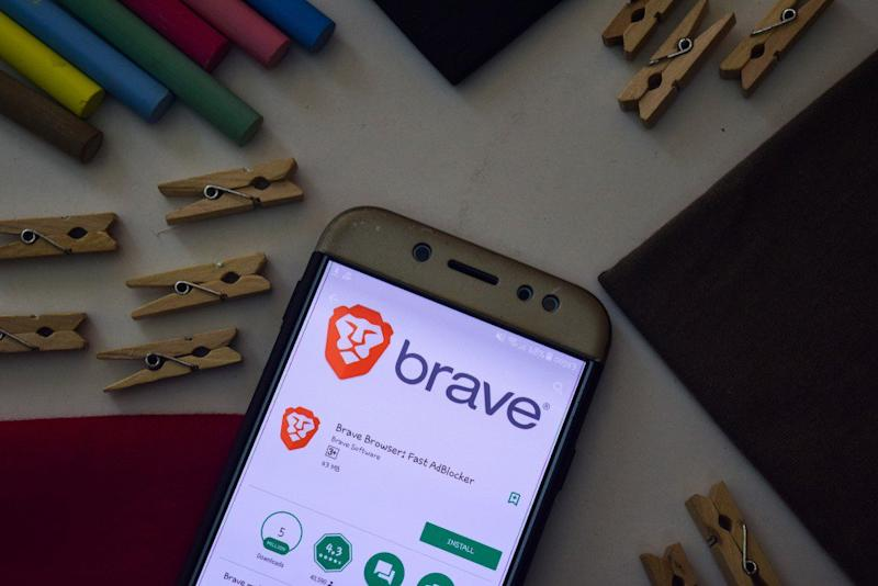 Brave is taking on the web's traditional ad tech with its own ad platform. | Source: Shutterstock
