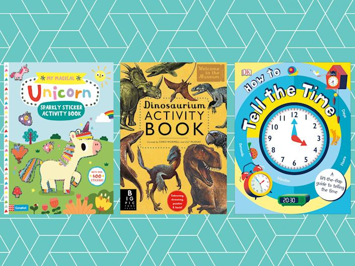 It's important for kids to have off-screen entertainment and these books will keep them occupied for hours: The Independent/iStock