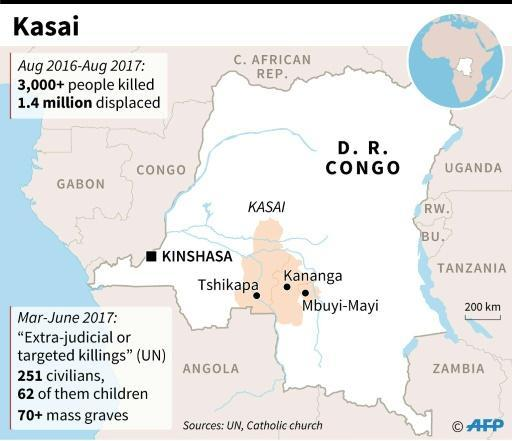 Kasai marks a year of bloodshed as doubt hangs over DR Congo poll
