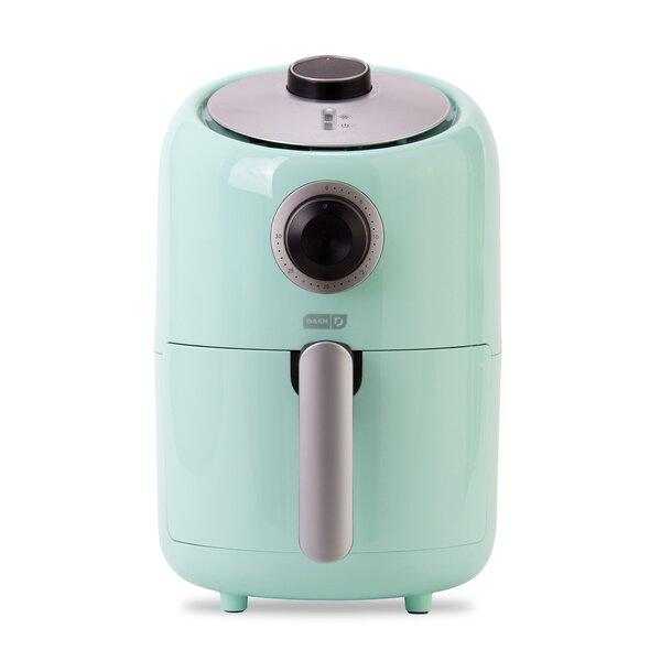 DASH Compact Air Fryer in aqua