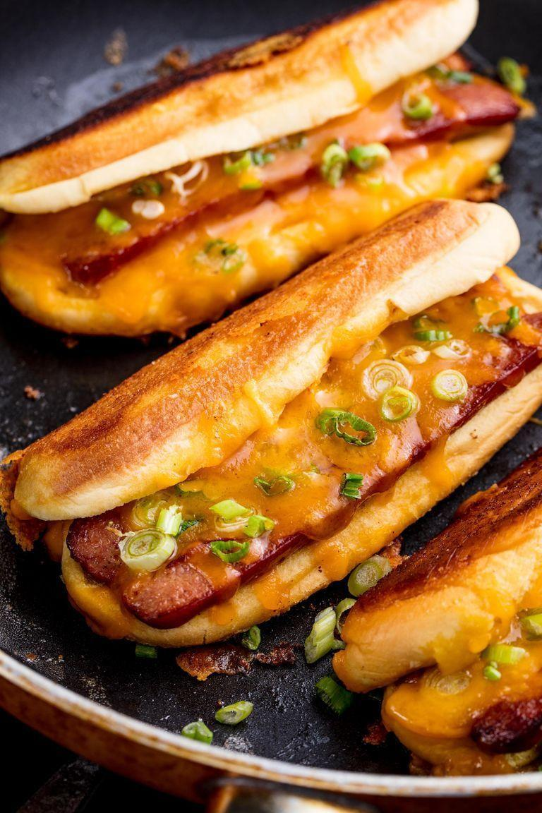 "<p>For all the times when you can't decide if you want a sandwich or a hotdog, why not have the two in one? </p><p><strong><em>Get the recipe at <a href=""https://www.delish.com/cooking/recipe-ideas/recipes/a52599/grilled-cheese-dogs-recipe/"" rel=""nofollow noopener"" target=""_blank"" data-ylk=""slk:Delish"" class=""link rapid-noclick-resp"">Delish</a>. </em></strong></p>"