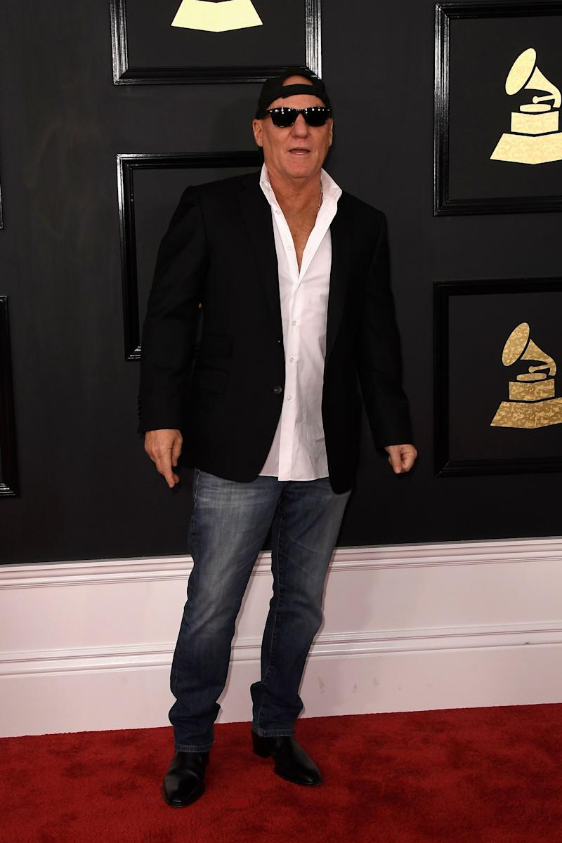 LOS ANGELES, CA - FEBRUARY 12: Designer Steve Madden attends The 59th GRAMMY Awards at STAPLES Center on February 12, 2017 in Los Angeles, California. (Photo by Frazer Harrison/Getty Images)