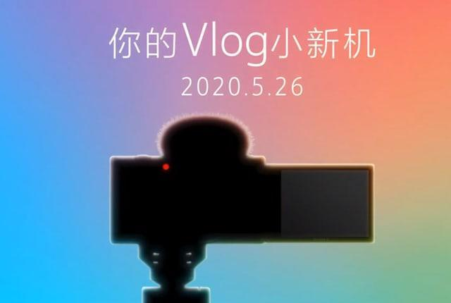 Sony ZV1 vlogging camera based on the RX100 VIII
