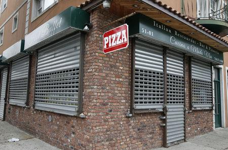 FILE PHOTO: The Cucino a Modo Mio pizzeria and restaurant in the Queens borough of New York