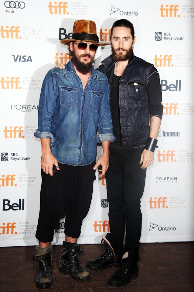 "WORST: The Leto brothers, Shannon and Jared, arrive at the premiere of their documentary, ""Artifact,"" looking like a couple of hobos who just wandered in off the street. Keep it classy, fellas."