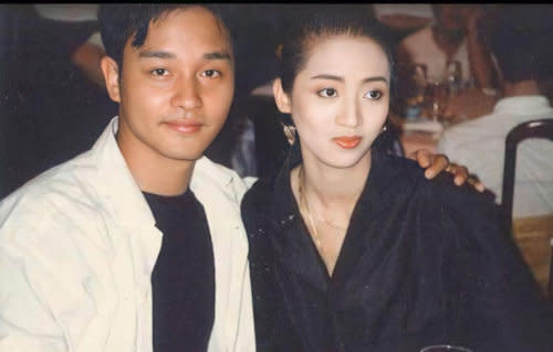 Leslie with the late Anita Mui