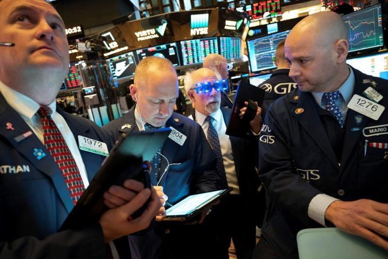 Wall Street dips at open as year-end rally tapers off